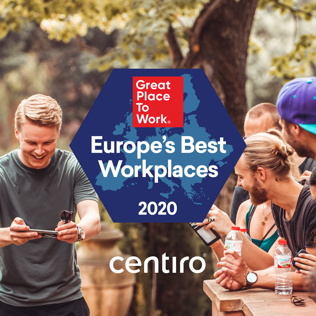 Centiro placed on Europe's Best Workplaces list 2020