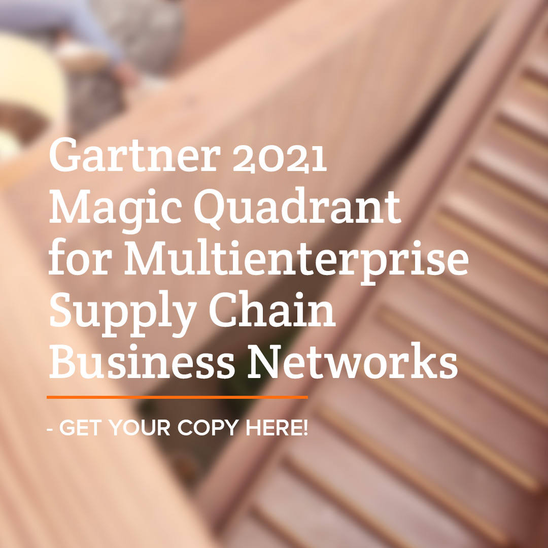 Centiro is positioned in the May 2021 Gartner Magic Quadrant for Multienterprise Supply Chain Business Networks